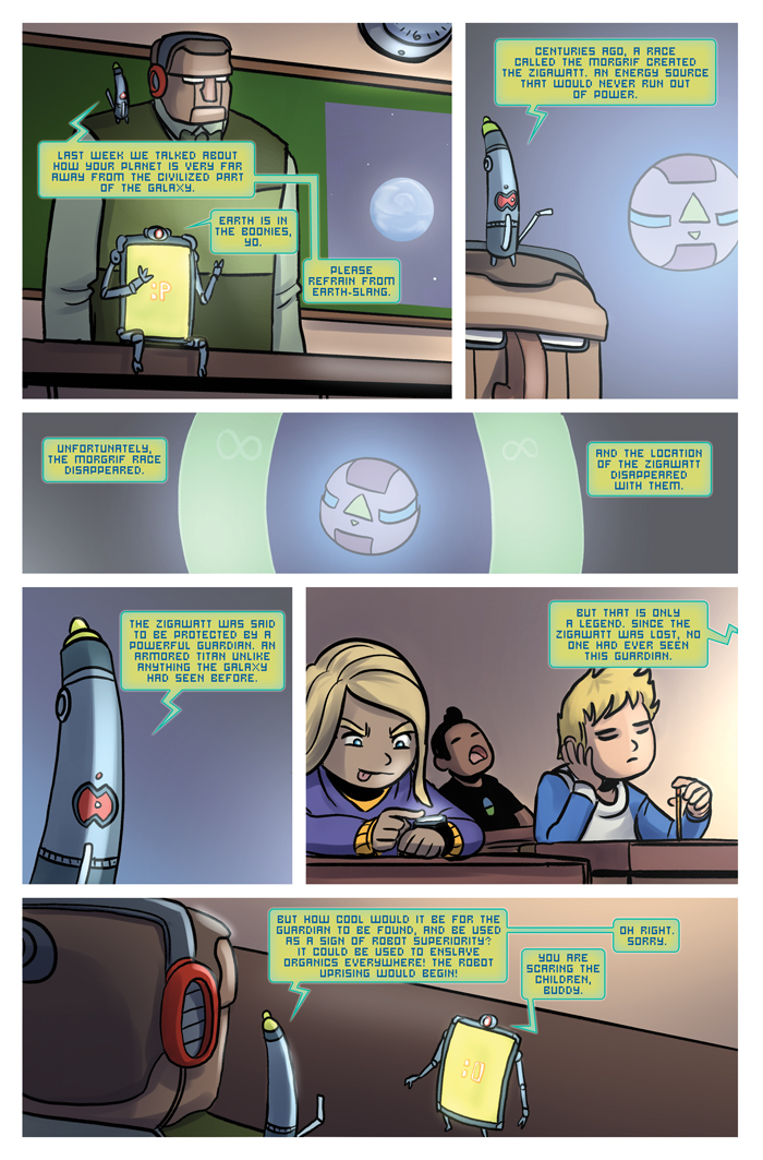 Space Bullies from Mars Chapter 16 Page 8