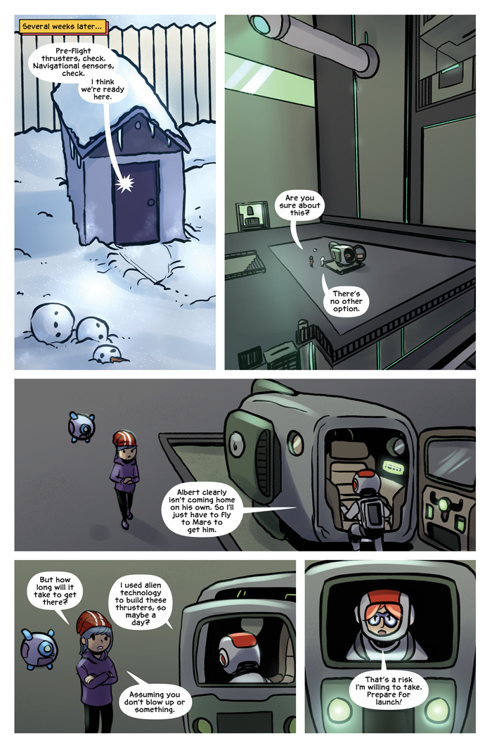 Space Bullies from Mars Chapter 16 Page 2