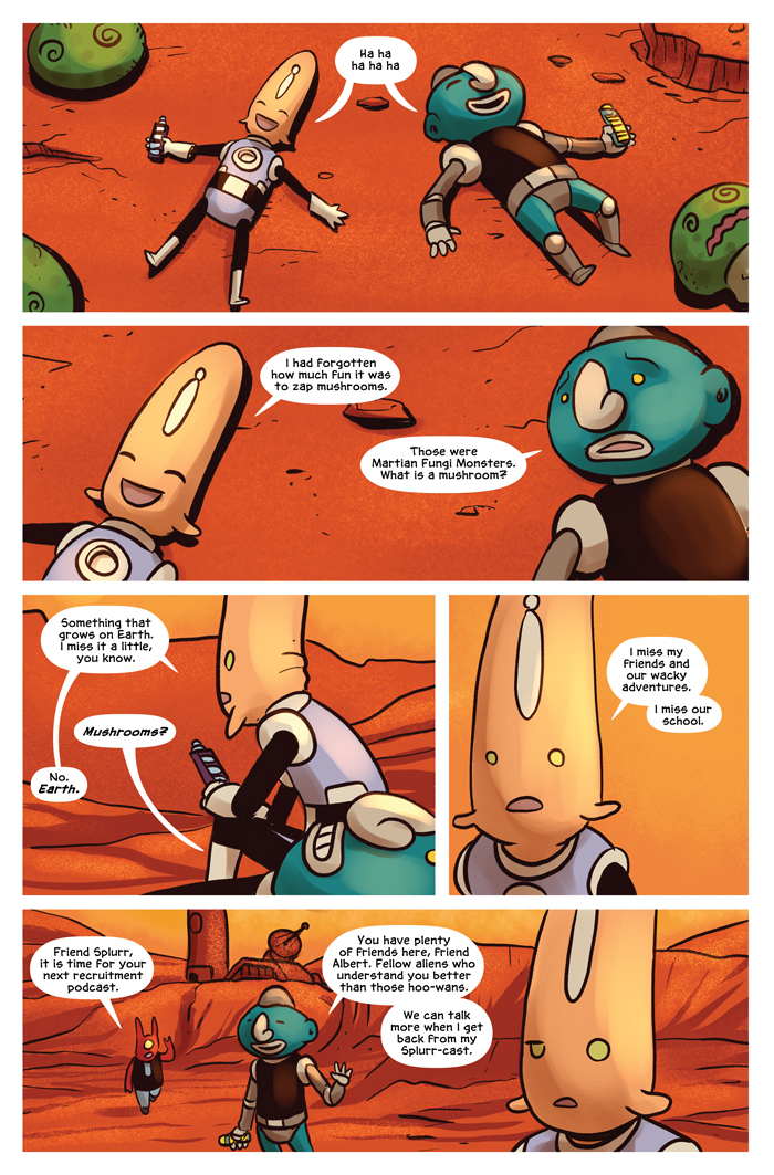Space Bullies from Mars Chapter 16 Page 6