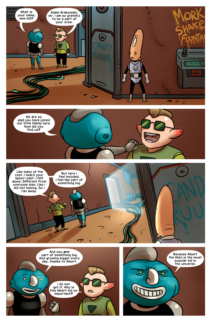 Space Bullies from Mars Chapter 16 Page 10