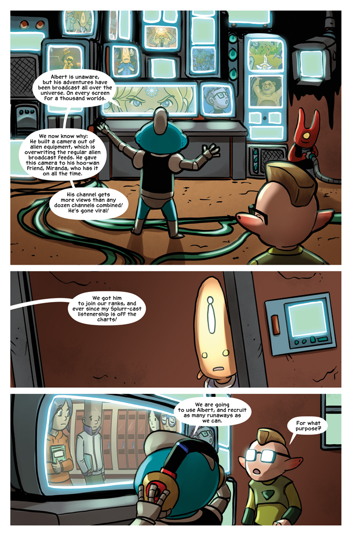 Space Bullies from Mars Chapter 16 Page 11