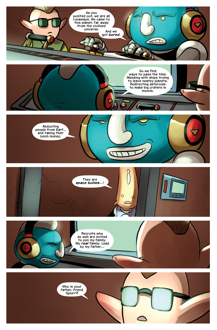 Space Bullies from Mars Chapter 16 Page 12