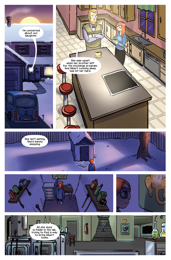Space Bullies from Mars Chapter 16 Page 14