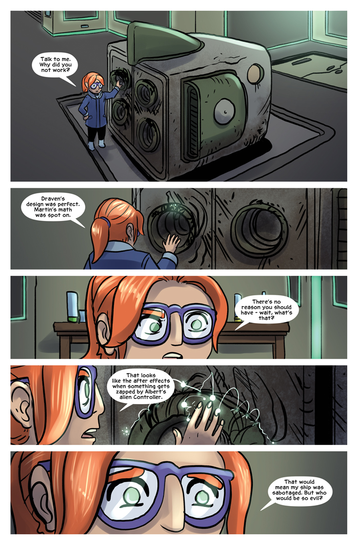 Space Bullies from Mars Chapter 16 Page 15