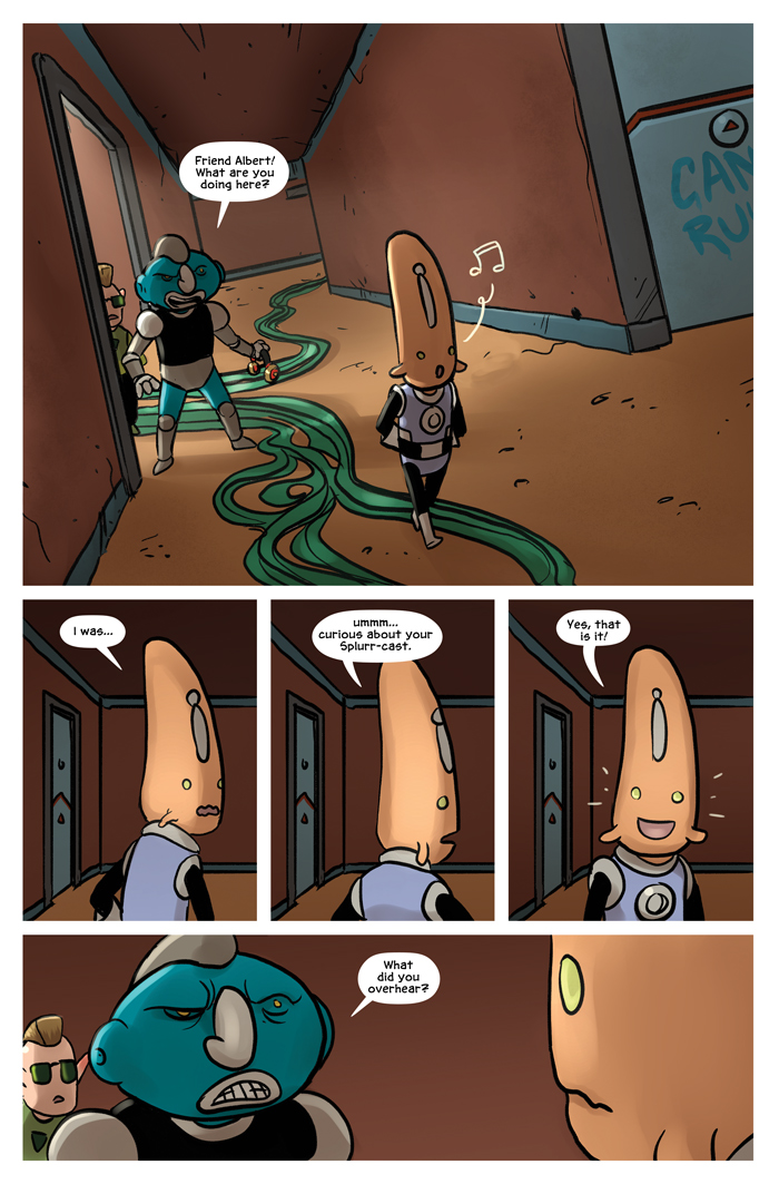 Space Bullies from Mars Chapter 16 Page 16