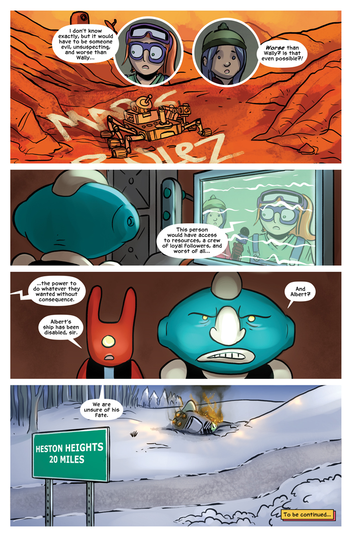 Space Bullies from Mars Chapter 16 Page 24
