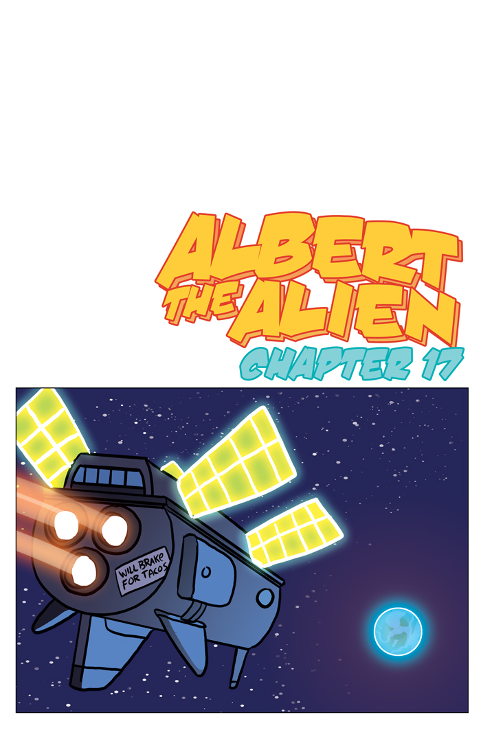 Space Bullies from Mars Chapter 17 Cover
