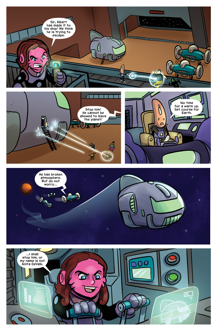 Space Bullies from Mars Chapter 16 Page 19