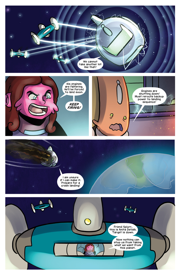 Space Bullies from Mars Chapter 16 Page 22