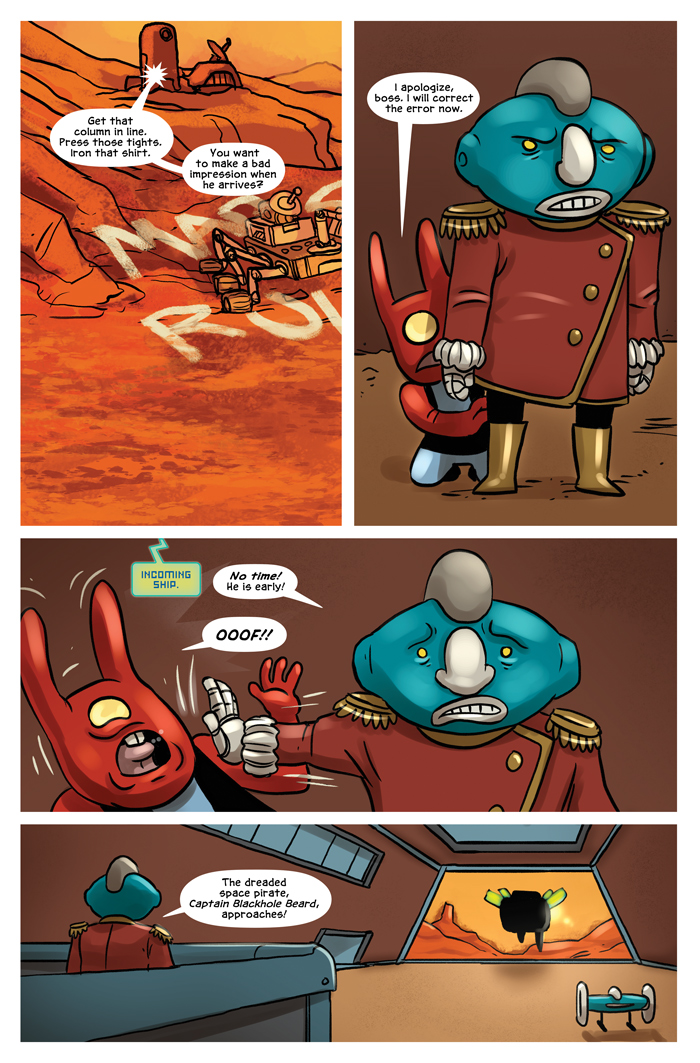 Space Bullies from Mars Chapter 17 Page 2