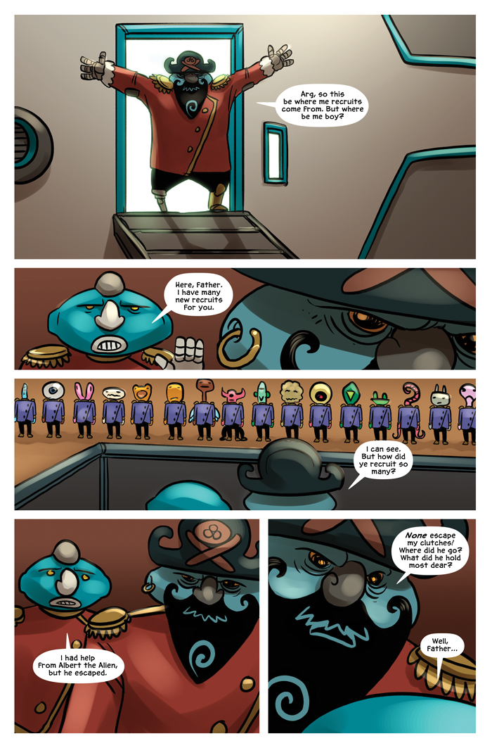 Space Bullies from Mars Chapter 17 Page 3