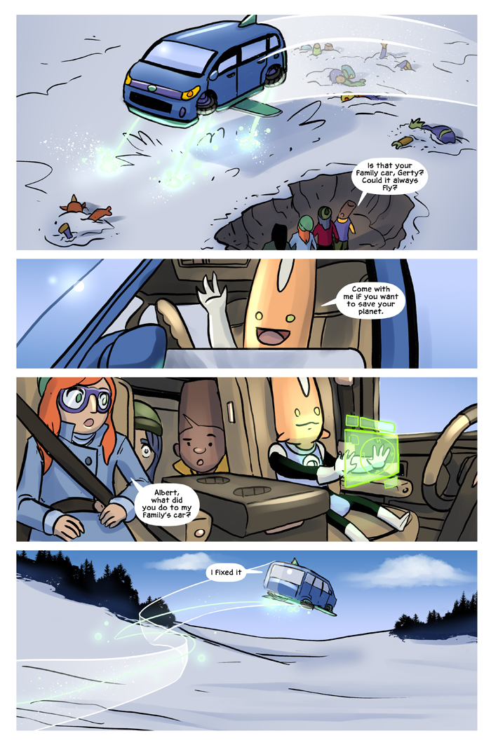 Space Bullies from Mars Chapter 17 Page 19