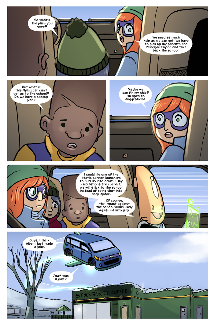 Space Bullies from Mars Chapter 17 Page 20