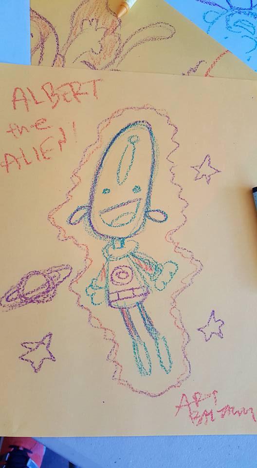 Albert the Alien by Art Baltazar