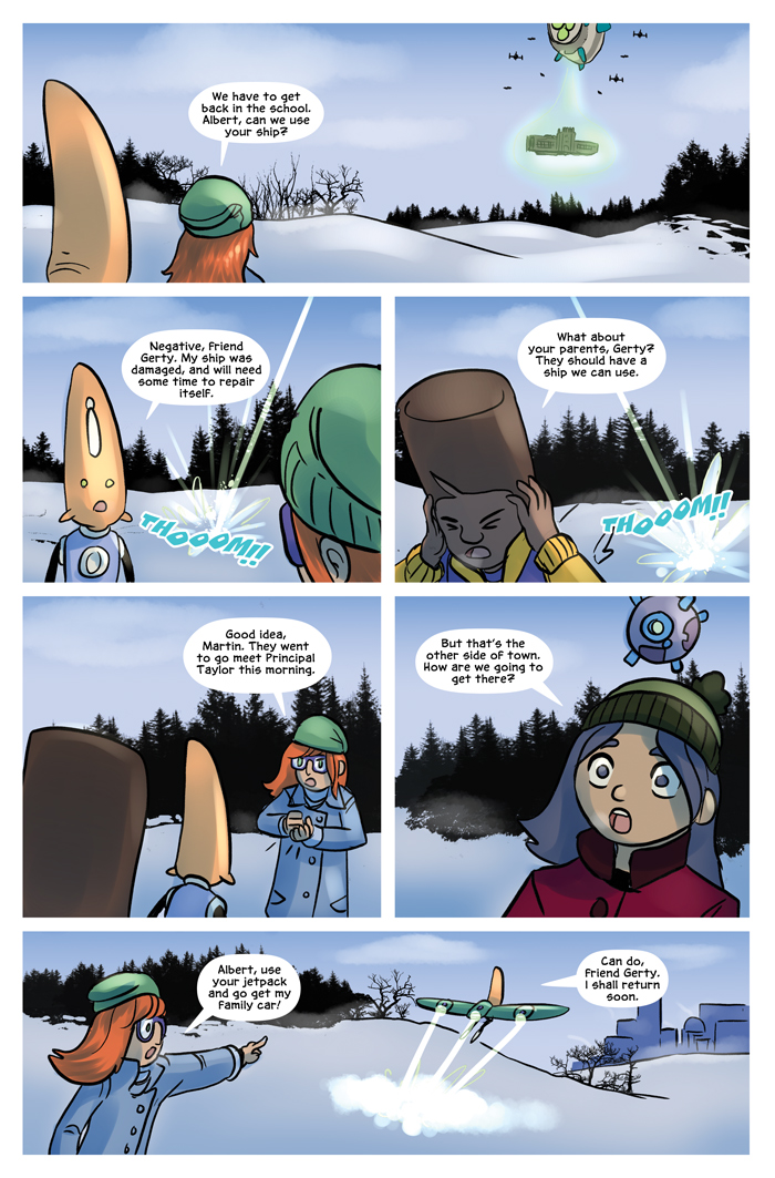 Space Bullies from Mars Chapter 17 Page 13