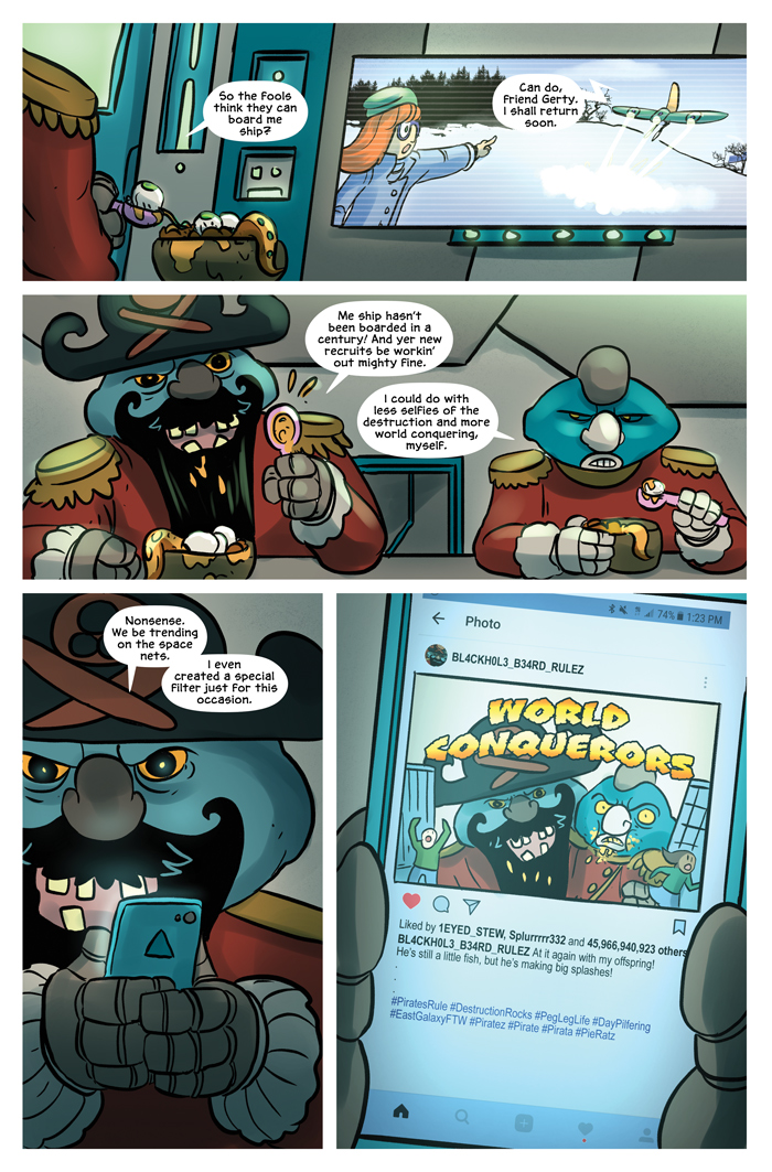 Space Bullies from Mars Chapter 17 Page 14