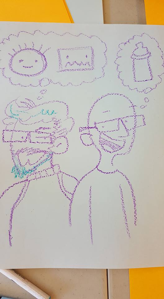 Gabo and Trevor by Art Baltazar