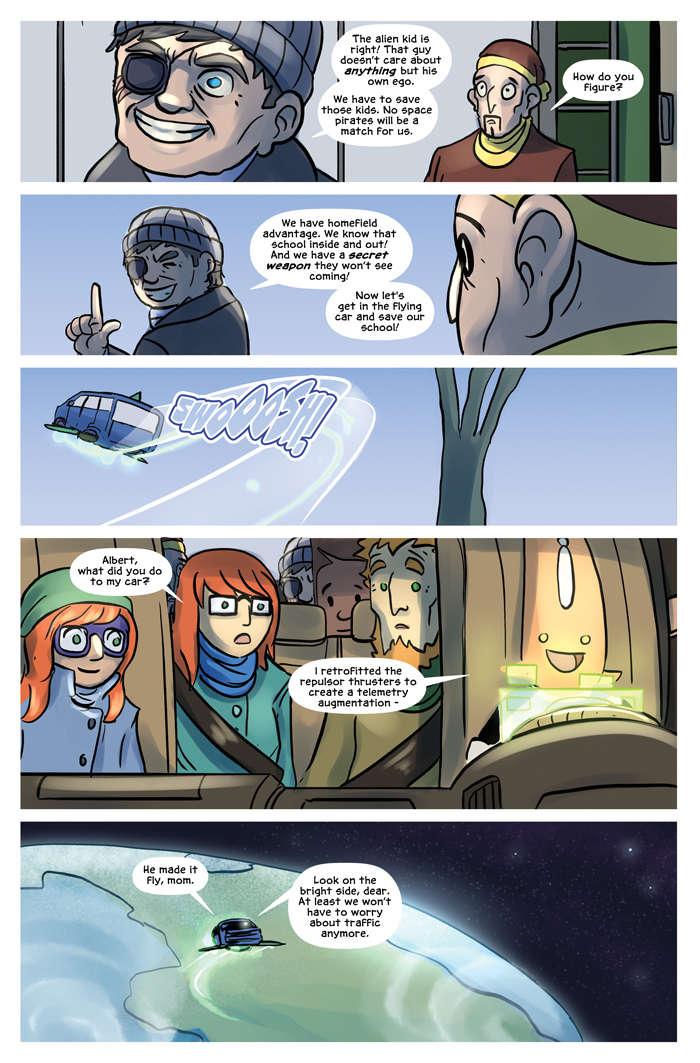 Space Bullies from Mars Chapter 17 Page 22