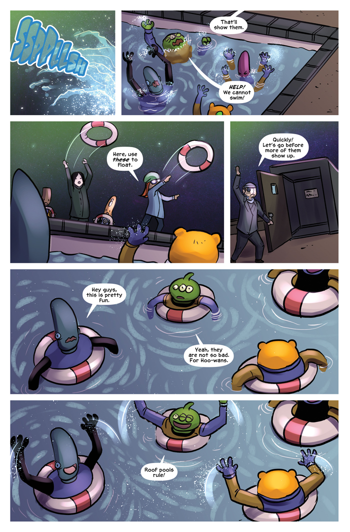 Space Bullies from Mars Chapter 18 Page 3