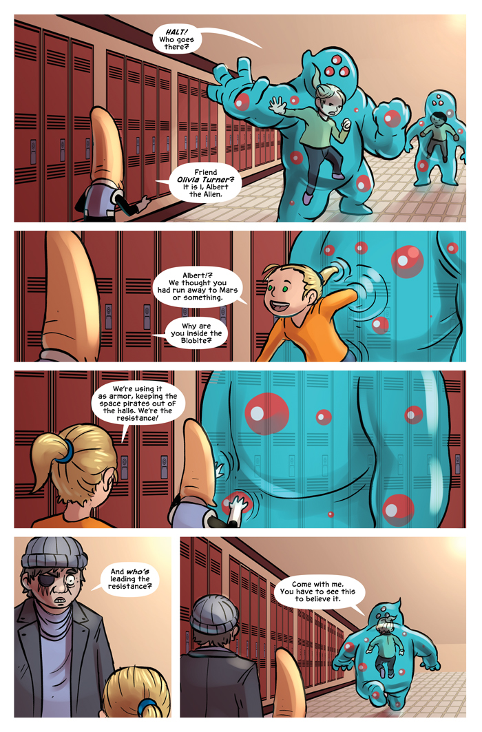 Space Bullies from Mars Chapter 18 Page 4