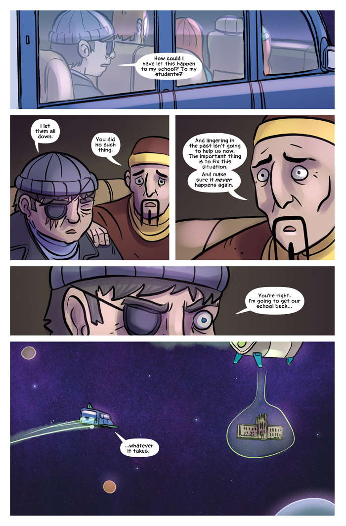 Space Bullies from Mars Chapter 18 Page 1