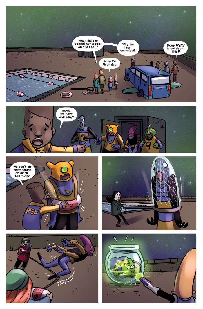 Space Bullies from Mars Chapter 18 Page 2