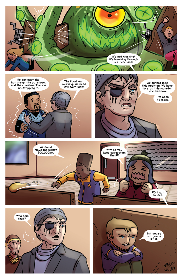 Space Bullies from Mars Chapter 18 Page 13