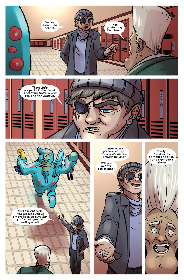 Space Bullies from Mars Chapter 18 Page 7