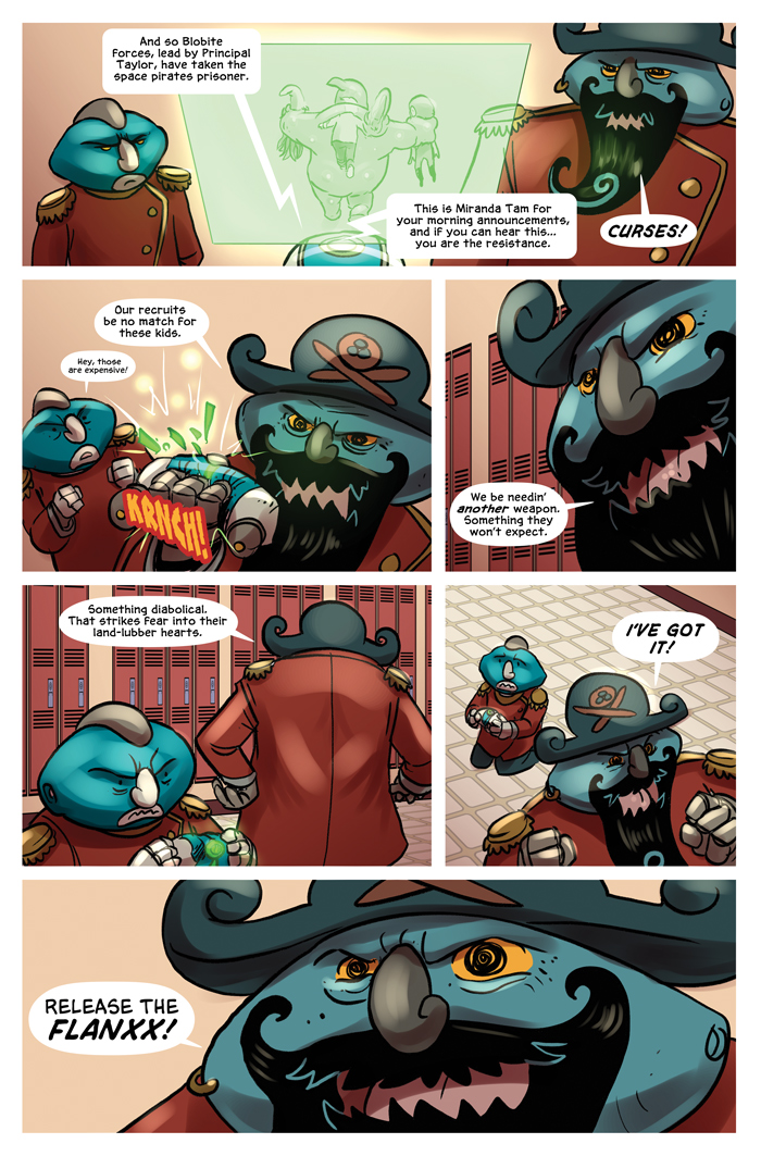 Space Bullies from Mars Chapter 18 Page 8