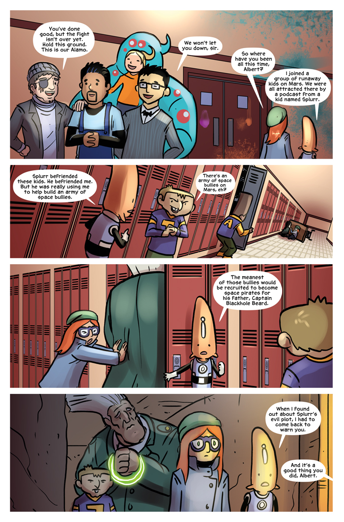 Space Bullies from Mars Chapter 18 Page 17