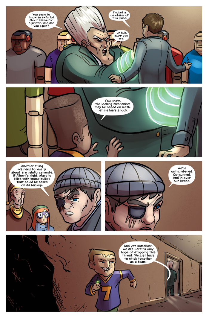 Space Bullies from Mars Chapter 18 Page 21