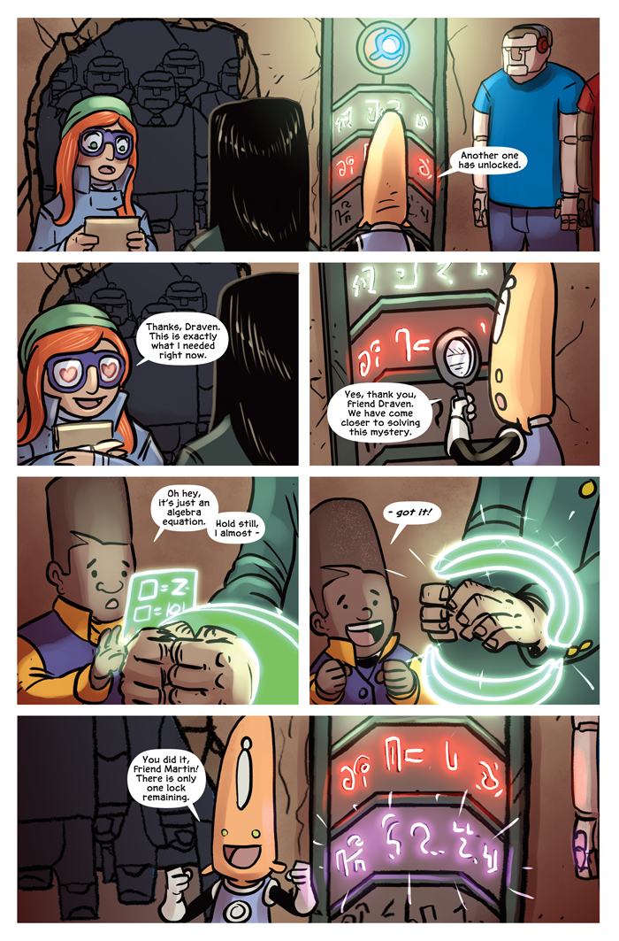Space Bullies from Mars Chapter 19 Page 3