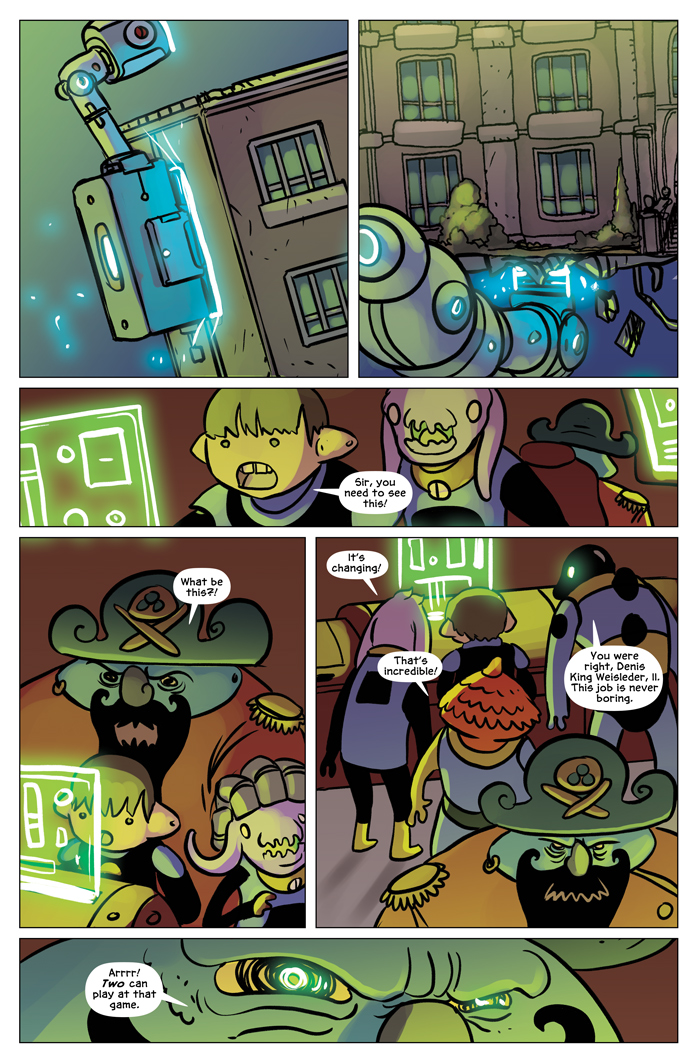 Space Bullies from Mars Chapter 19 Page 6