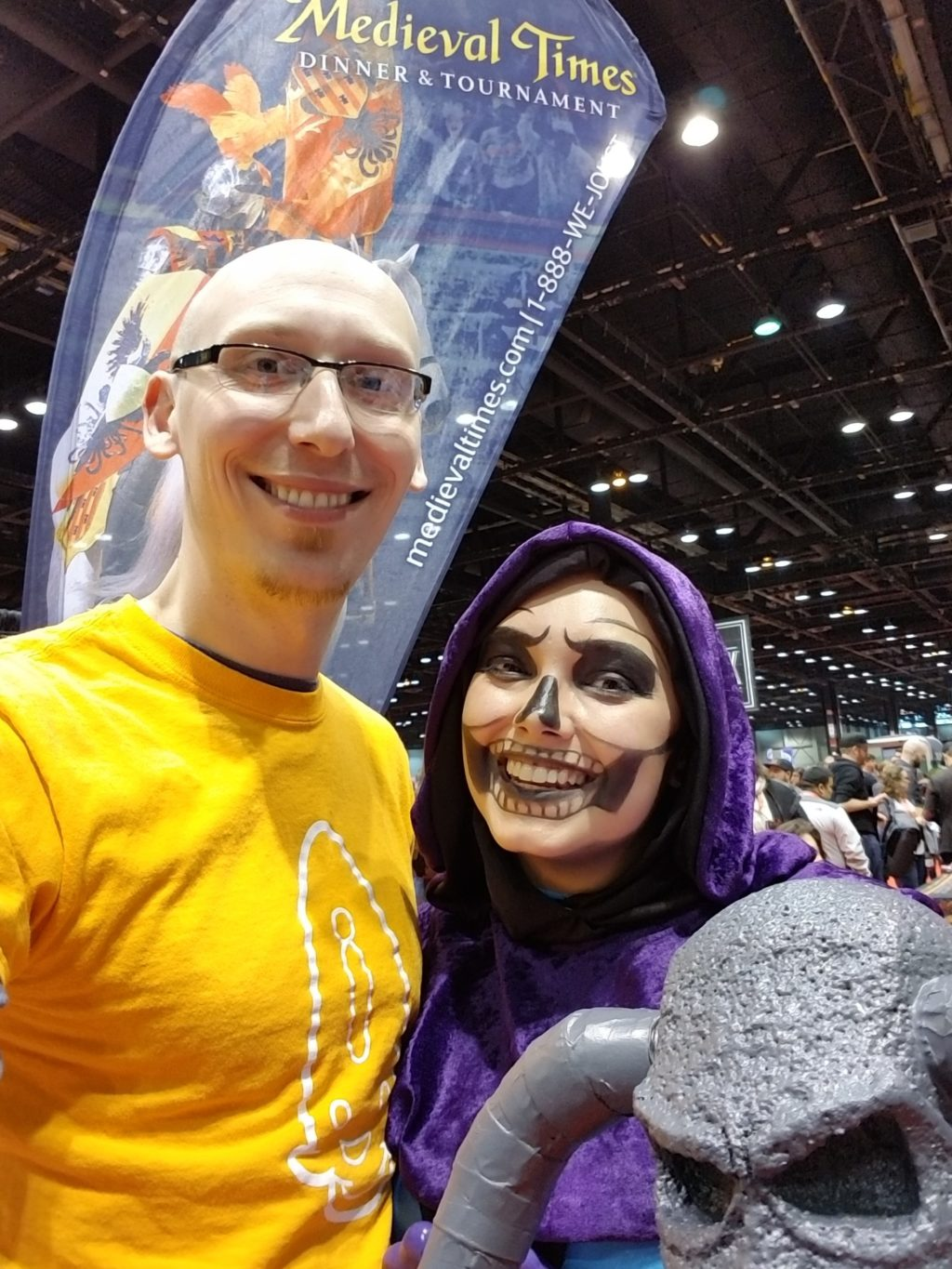 MeggoMade came back as Skeletor!