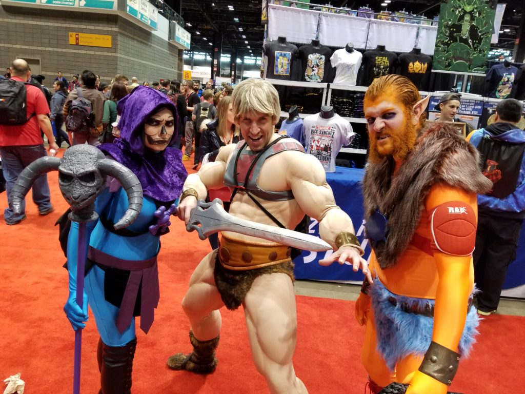 He-Man and Beast Man showed up