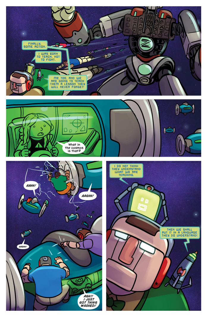 Space Bullies from Mars Chapter 19 Page 12