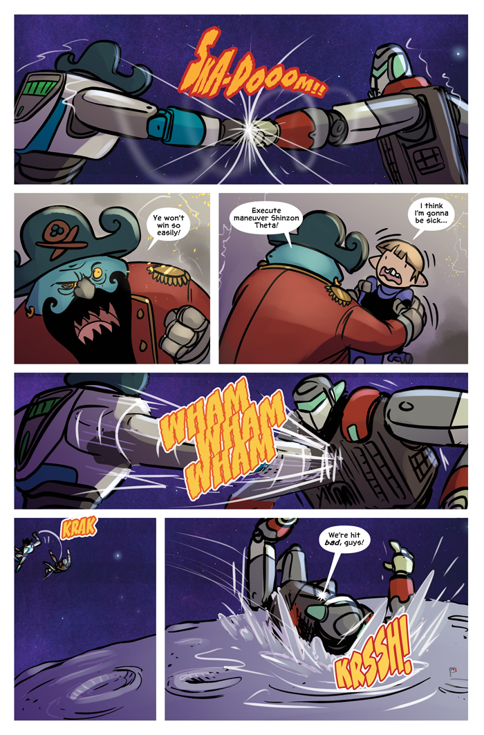 Space Bullies from Mars Chapter 19 Page 14