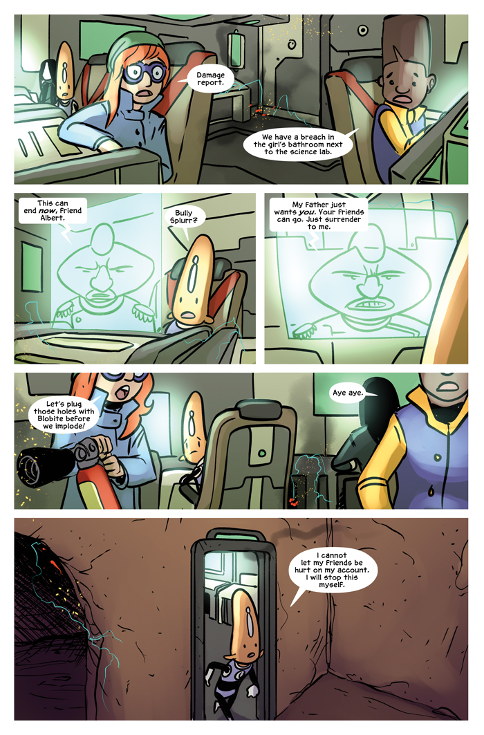 Space Bullies from Mars Chapter 19 Page 15