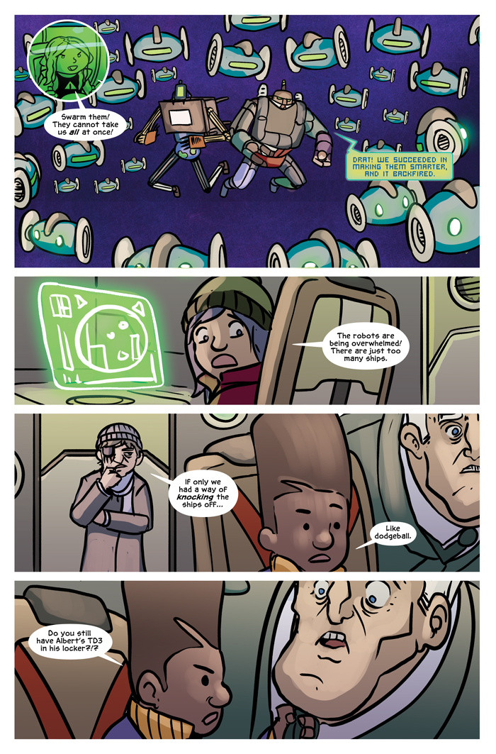 Space Bullies from Mars Chapter 19 Page 17