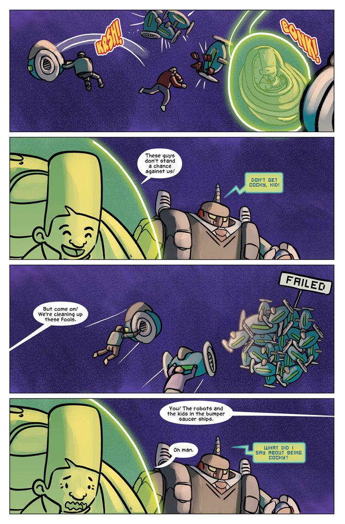 Space Bullies from Mars Chapter 19 Page 22