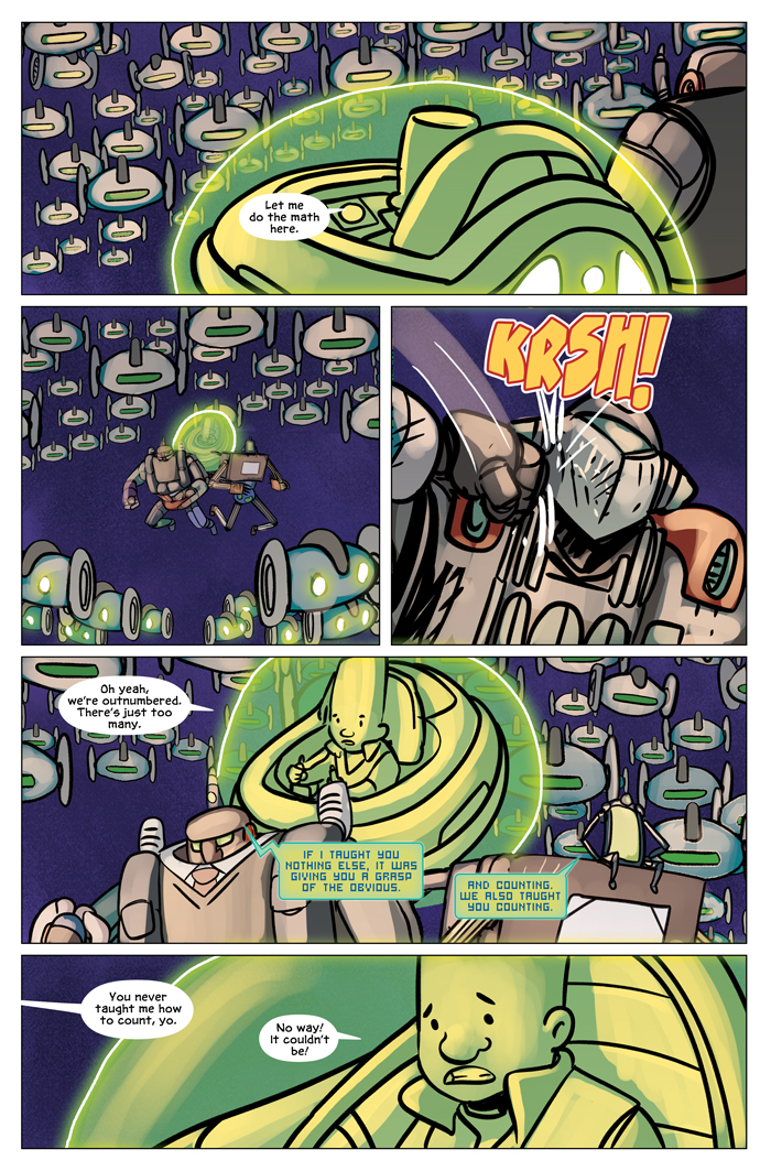 Space Bullies from Mars Chapter 19 Page 23