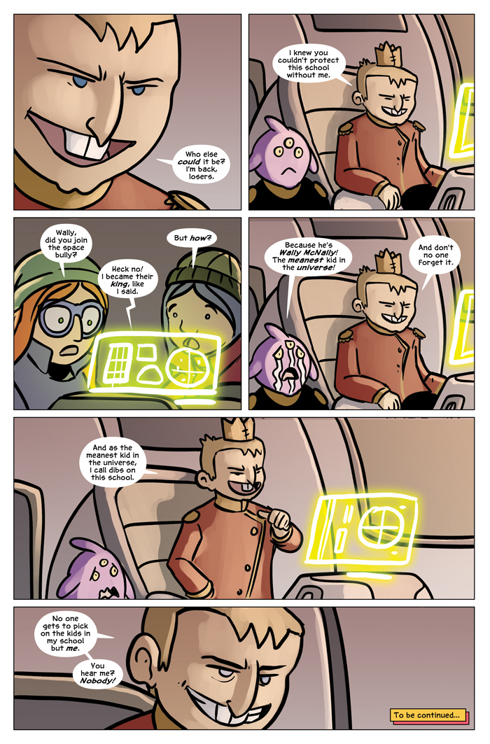Space Bullies from Mars Chapter 19 Page 24