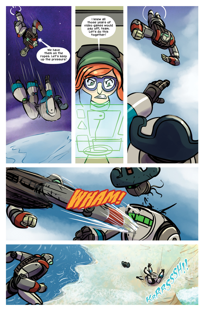 Space Bullies from Mars Chapter 20 Page 2