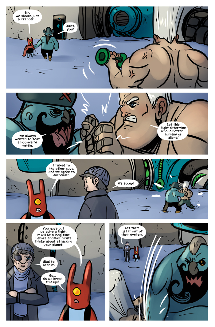 Space Bullies from Mars Chapter 20 Page 7