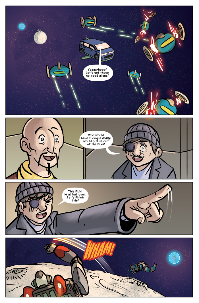 Space Bullies from Mars Chapter 20 Page 1