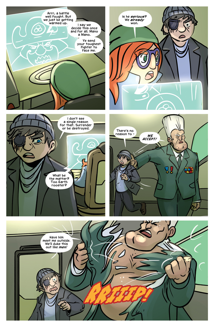 Space Bullies from Mars Chapter 20 Page 3