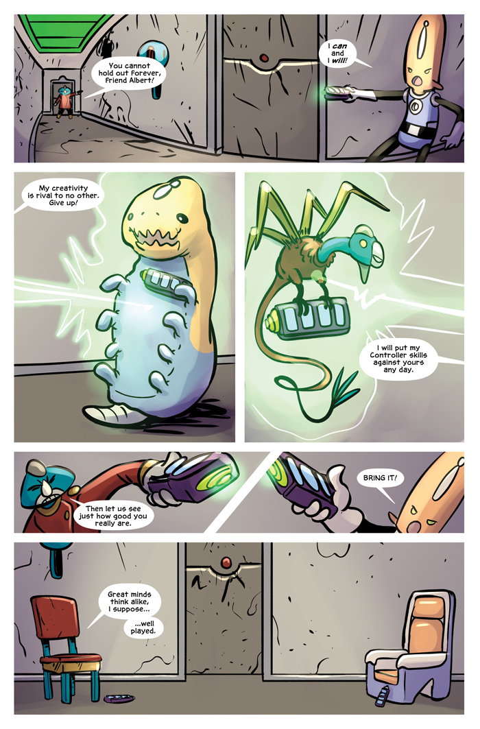 Space Bullies from Mars Chapter 20 Page 5