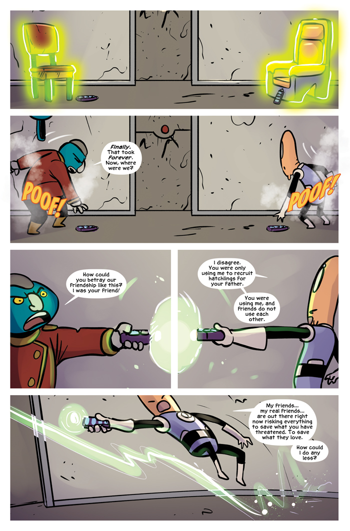 Space Bullies from Mars Chapter 20 Page 6
