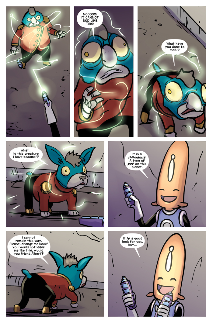 Space Bullies from Mars Chapter 20 Page 10
