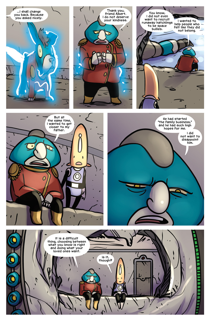 Space Bullies from Mars Chapter 20 Page 11